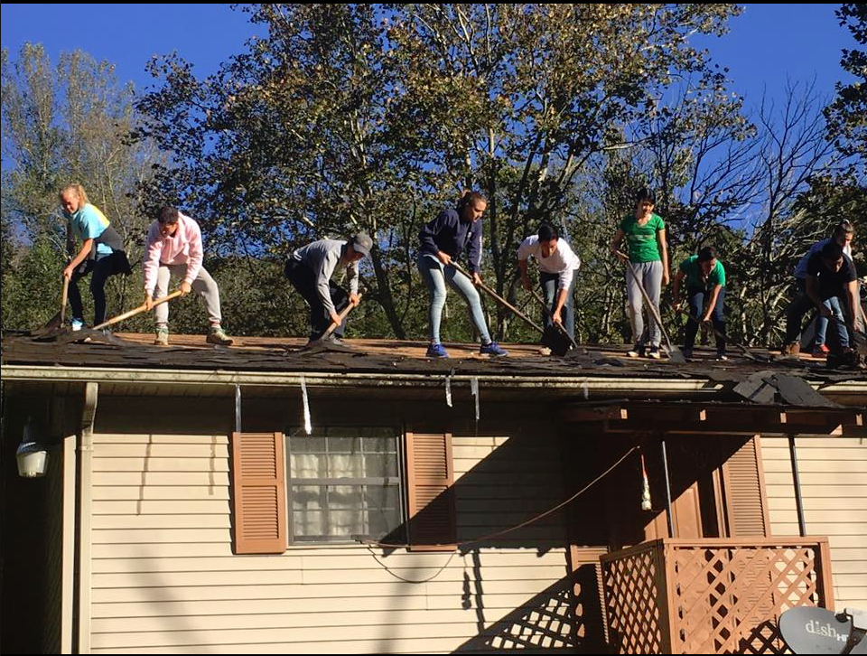 COAP, Inc. - group roof removal